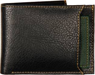 Gulab Men Casual, Formal Black, Green Artificial Leather Wallet
