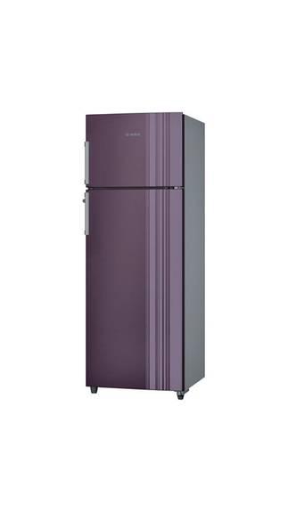 Bosch KDN30VR30I 288 Litres Double Door Frost Free Refrigerator  Chrome Inox Metallic