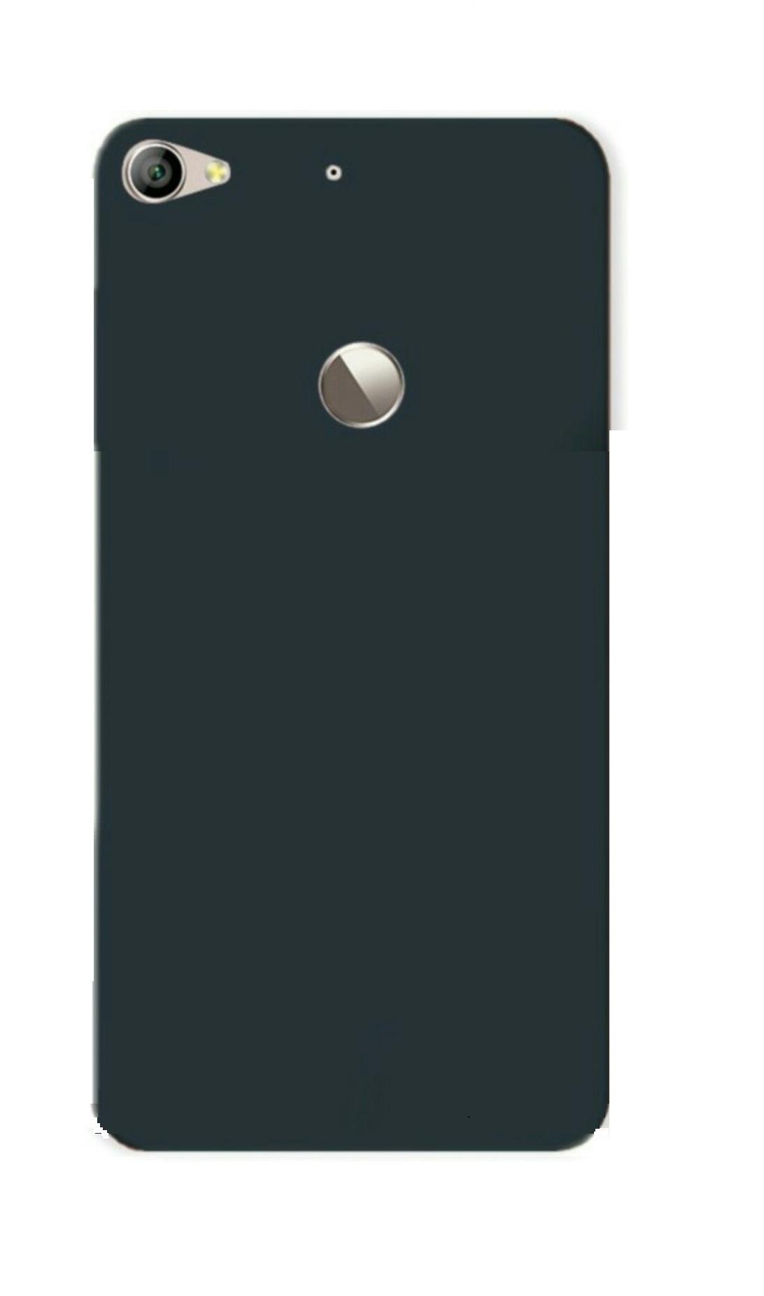 LeEco LeTv Le 1s Back Cover Case Black By mascot max