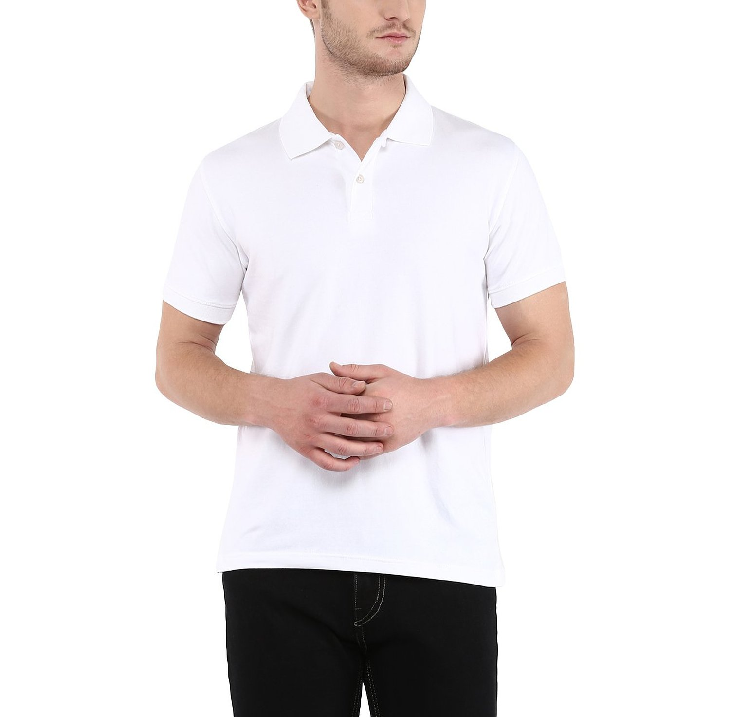 Crew Men's Polo Solid T Shirt