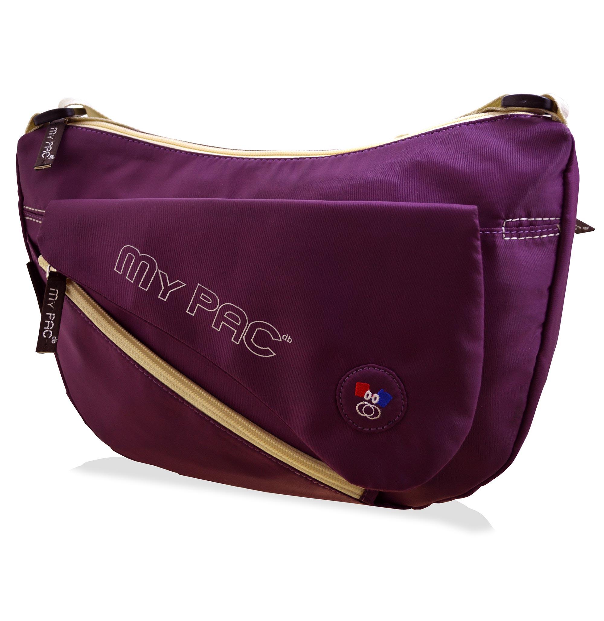 mypac ViVaa Polyester Sling bag for girls purple C11565 72