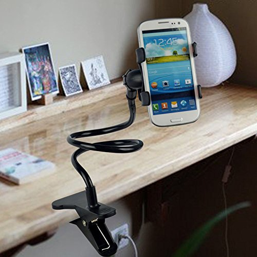 Universal Long Lazy Bed Desktop Car Stand Mount Holder For Cell Phone