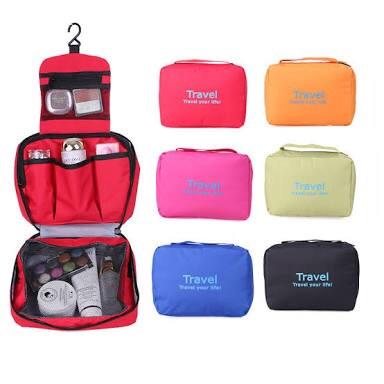 Toiletry Kit folding Toiletry Kit Travel Bag three Layer Cosmetic Organizer Unisex Toiletry Kit