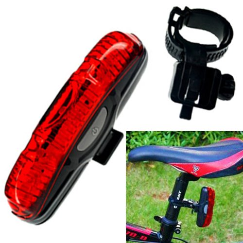 Futaba Bicycle 5 LEDs Rear Light Tail Back Strip Lamp Waterproof Anti shock