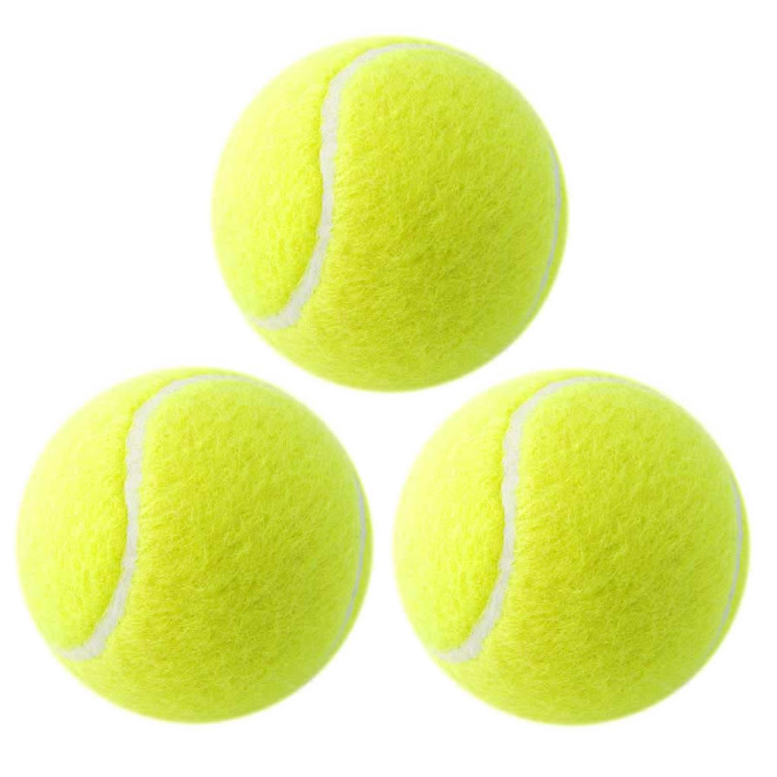 Cricket Tennis Ball   Yellow  Pack of 3  REMEMBER QUALITY