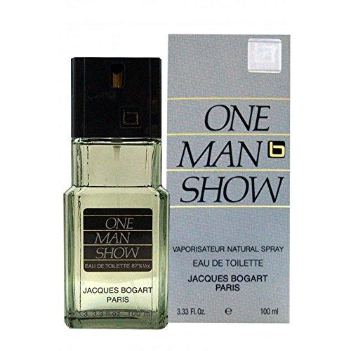 One Man Show By Jacques Bogart For Men. Eau De Toilette Spray 3.3 Ounces