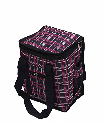 Kuber Industries Insulated Lunch Bag  Canvas  KI00787