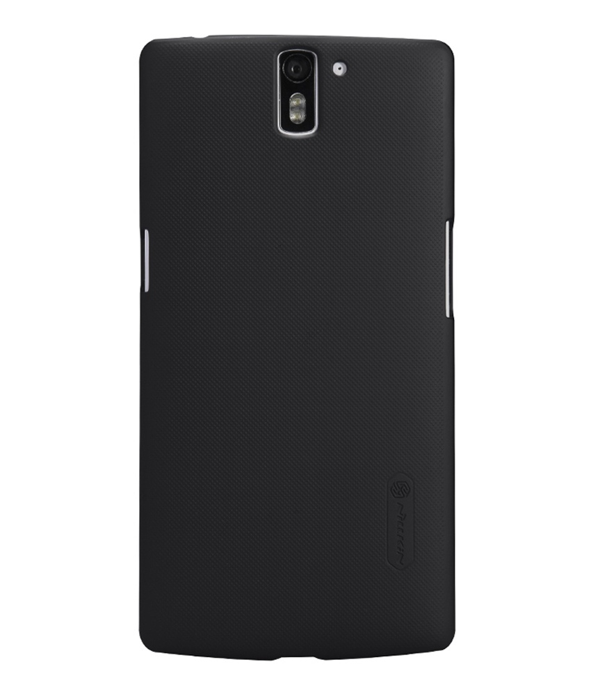 Snaptic Nillkin Super Frosted Hard Black Cover for Oneplus One