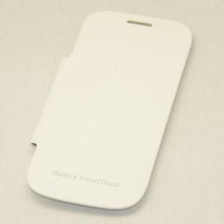 Samsung Galaxy S Duos Flip Cover For S7562/ S7582   White