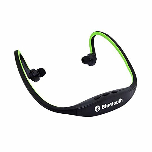 Futaba Sports Hands free Wireless Bluetooth V3.0 High Quality Stereo Music Headsets with Mic Calling for Smart Phone   Green