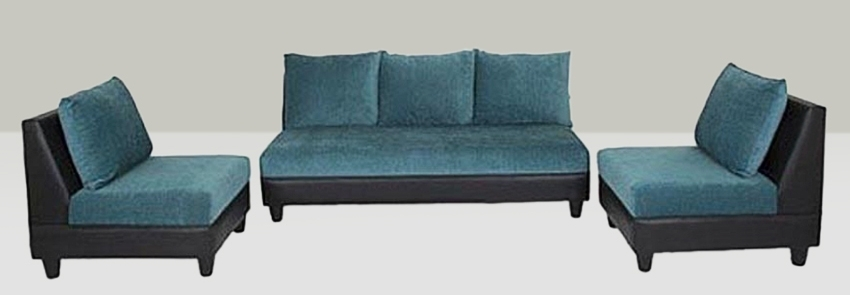 Earthwood  Pacific Fabric 3+1+1 Sofa Set