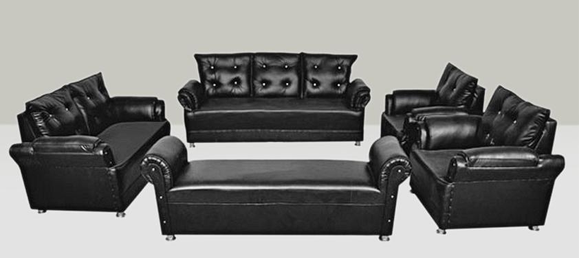 Earthwood  Seabury Leatherette 9 Seater Sofa Set  3+2+1+1+Settee