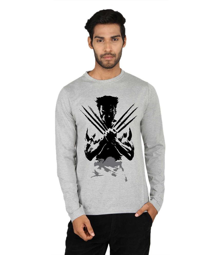 SMH Full Sleeve Printed Men's Sweatshirt