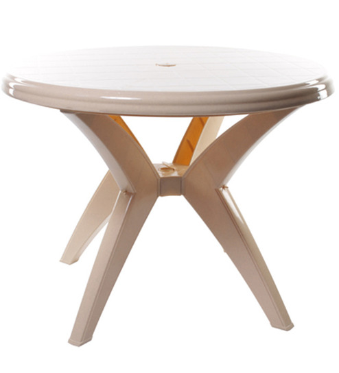 Cello Round Plastic Dining Table