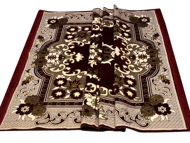 Chenille Carpet   55x80, Multicolour