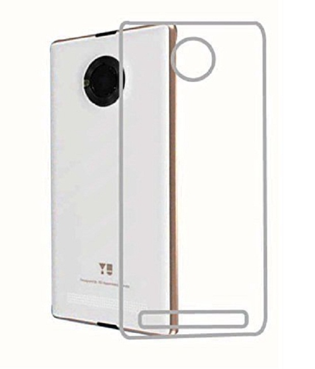 Back Cover for Micromax YU Yuphoria,Transparent