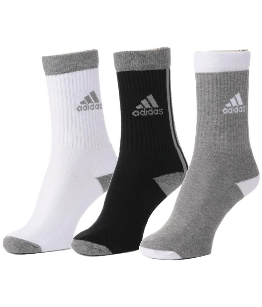 Adidas Mens Full Cushion Crew Socks Pack Of 3