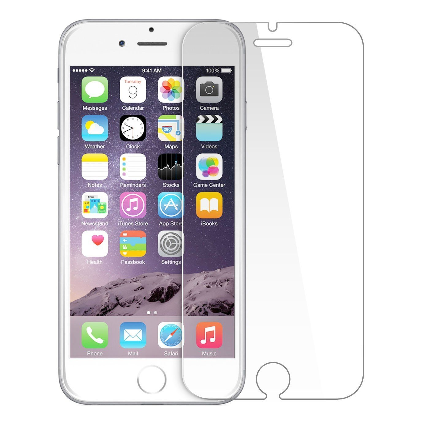 Front Tempered Glass Screen Protector Guard For Apple Iphone 6/6S