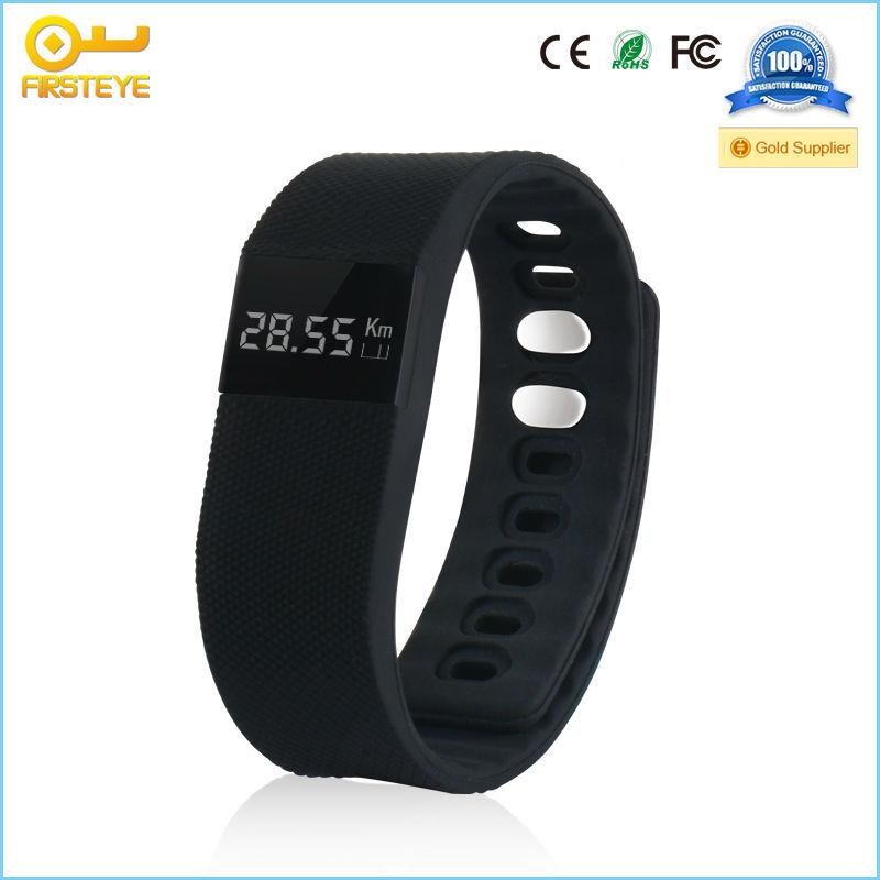 Fitness Band Sporty TW64 Black Waterproof Smart Bluetooth Wrist fitness Band