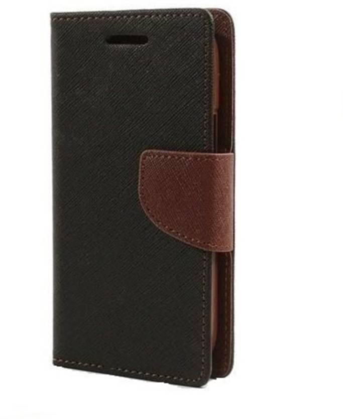 Mercury Wallet Style Flip Case Cover for Samsung On5 On5 pro   Brown  by Mobimon