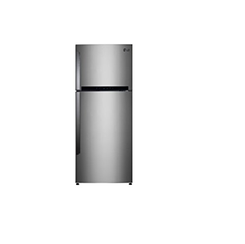 LG Gl I472QPZL 420 Litres Double Door Frost Free Refrigerator  Shiny Steel