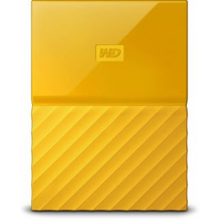 WD My Passport 2 TB Wired External Hard Disk Drive (Yellow) at shopclues