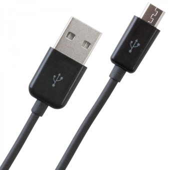 Samsung Mobile Phone Smartphone USB Datacable Data Cable Charging Sync Cable Wire Black