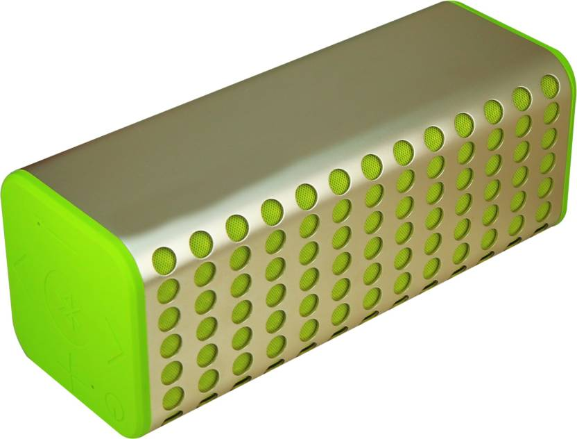 Mectronix B 2 Metal Portable Soundbox With Thump Bass  Supports Bluetooth,Aux,Memory Card  Portable Bluetooth Mobile/Tablet Speaker  Green, 2.1 Channel