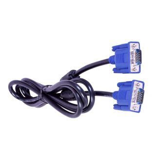 VGA 15 PIN MALE TO MALE CABLE 1.5M