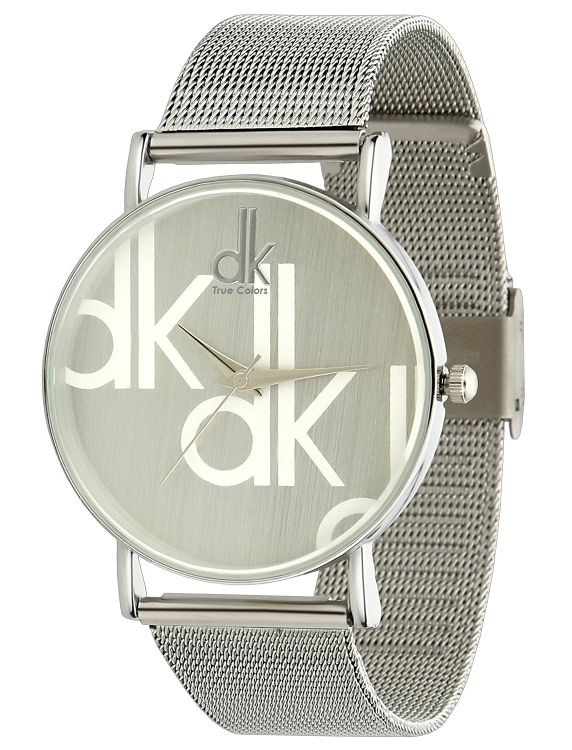 True Choice Beautiful Silver Colored Analog Watch For Girls