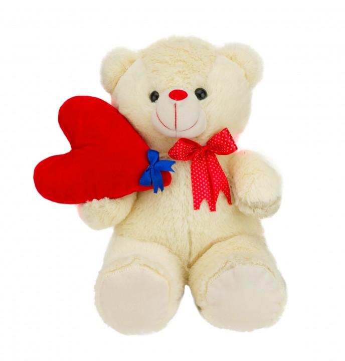 Kidizoo cute teddy with heart 30 cm