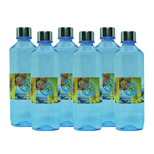 GPet Water Bottle Mint 500 ml with Steel Cap Set of 6