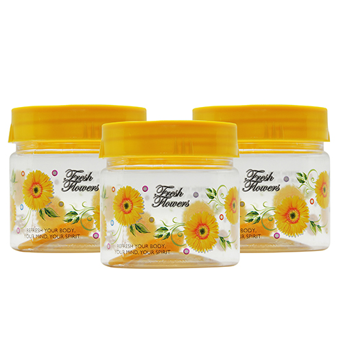GPET Print Magic Container 250 ml Yellow  Pack of 3