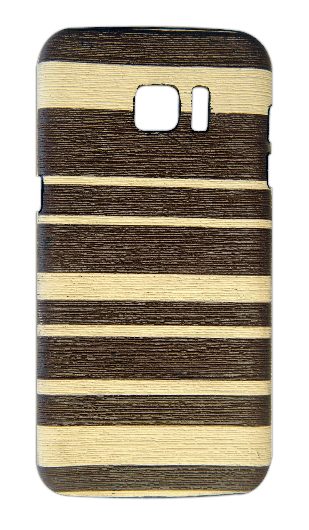 Samsung S7 Edge Designer Back CoverBrown   Beige