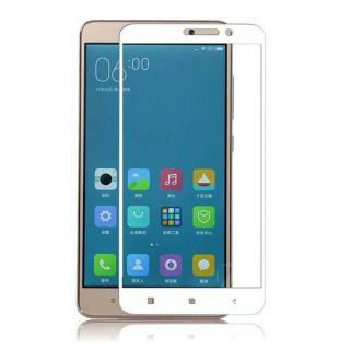 Oppo F1 Plus White 9H Curved Edge HD Tempered Glass
