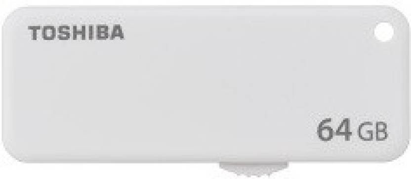 Toshiba U203 64  GB Pen Drive  White