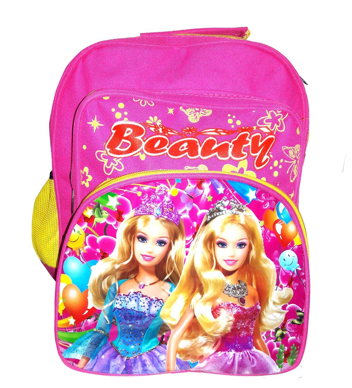 ROXX LEE BEAUTY PRINCESS Waterproof School Bag  Pink, 15 INCH
