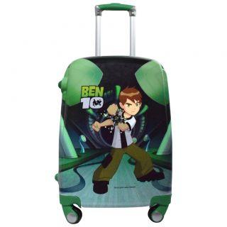 TRAVELLER CHOICE 20 inch Kids BEN 10 Printed Polycarbonate 4 wheel Trolley Bag,