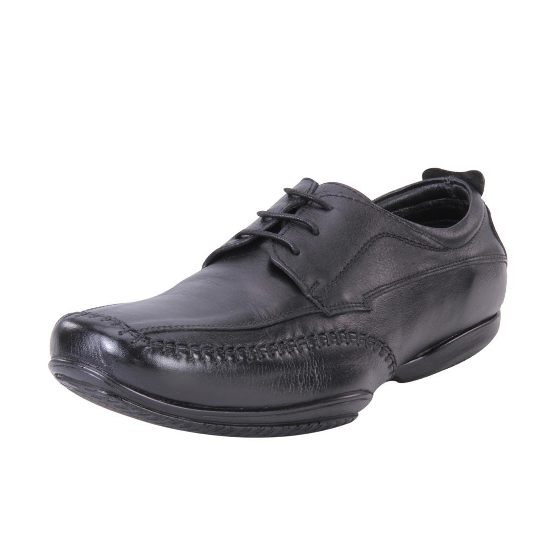 Franco Leone 9446 Black Men's Formal Shoes