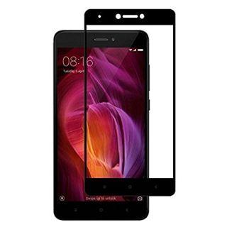 Full Tempered Glass Screen Protector Fo Redmi Note 4  2017  Black