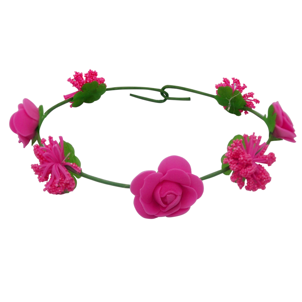 Online shopping site buy mobiles electronics fashion clothing the99jewel by jewelmaze pink tiara rose flower crown izmirmasajfo