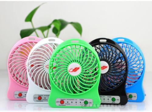 Portable Mini Rechargable Battery Fan