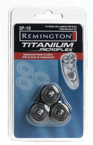 Remington Sp 19 Titanium Microflex Replacement Heads And Cutters For Titanium