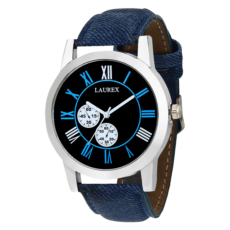 Laurex Analog Round Casual Wear Watches for Men LX 059