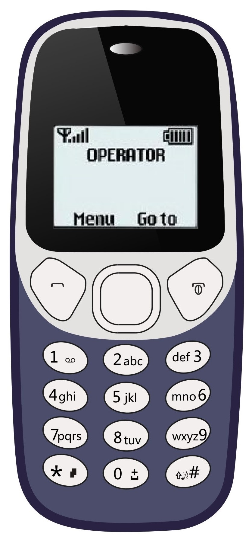 IKall K71 - (Single Sim, 1.4 Inch Display, 800 Mah battery)