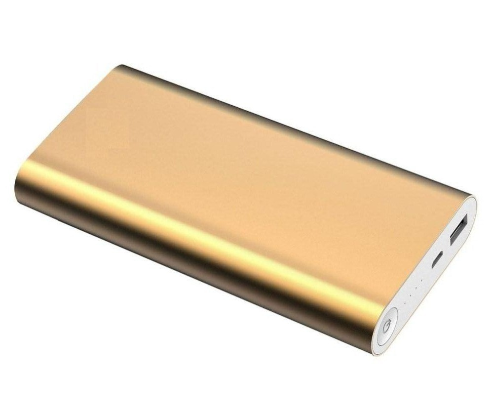 Lionix Stylish Designed USB Portable 20800 mAh Power Bank  Gold
