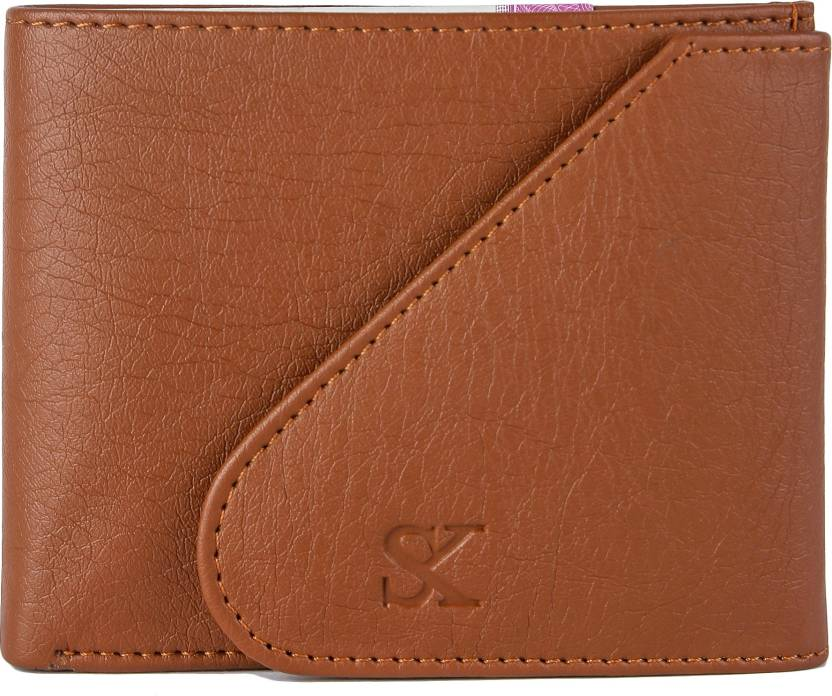 Styler King Boys Tan Artificial Leather Wallet  6 Card Slots   Synthetic leather/Rexine