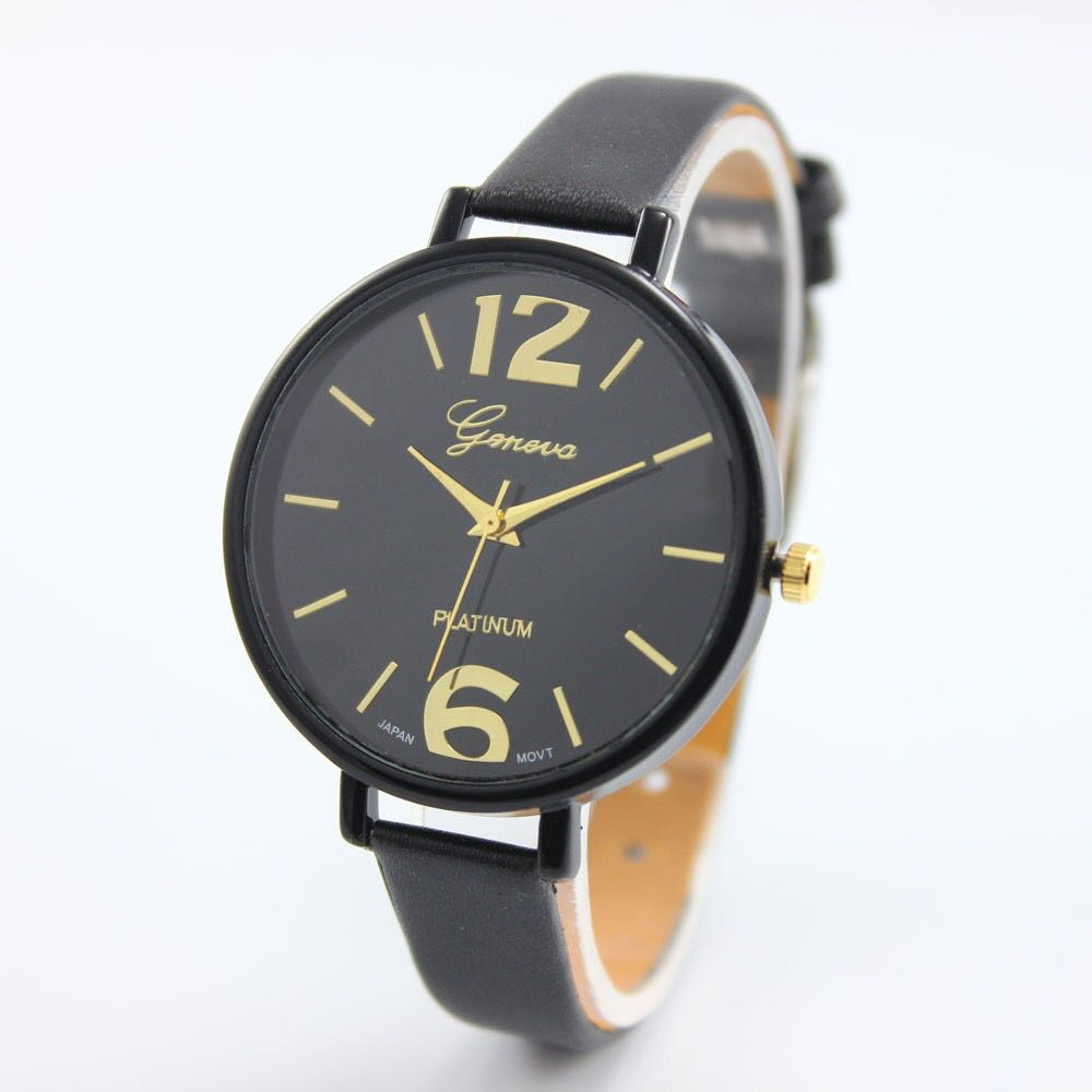 HRV Exclusive Designer Analog Latest Leather Watch