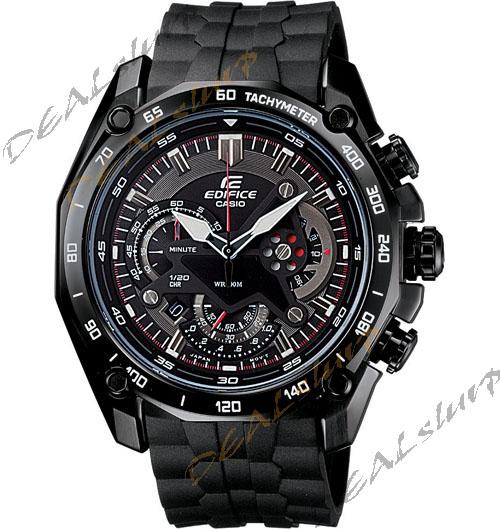 635a1da03962 CASIO EDIFICE EF 550 BK AV Black Chronograph Men Watch Best Deals ...