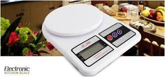 Electronic Digital Kitchen Scale  SF 400